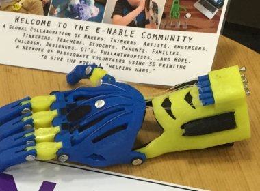 Code Red Robotics Joins e-NABLE, Builds Prosthetic Hands for Underprivileged Youth